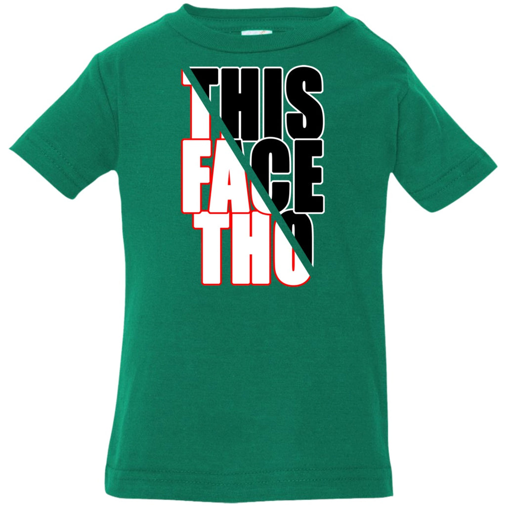 T-Shirts - This Face Tho Infant Jersey T-Shirt