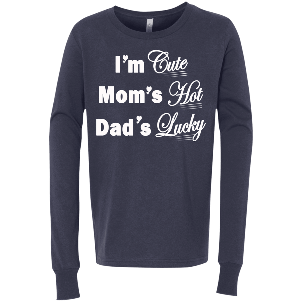 T-Shirts - Youth Jersey LS T-ShirtI'm Cute
