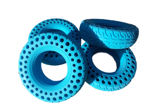 Electric Skate Headquarters, ESHQ, Blue All Terrain Wheels
