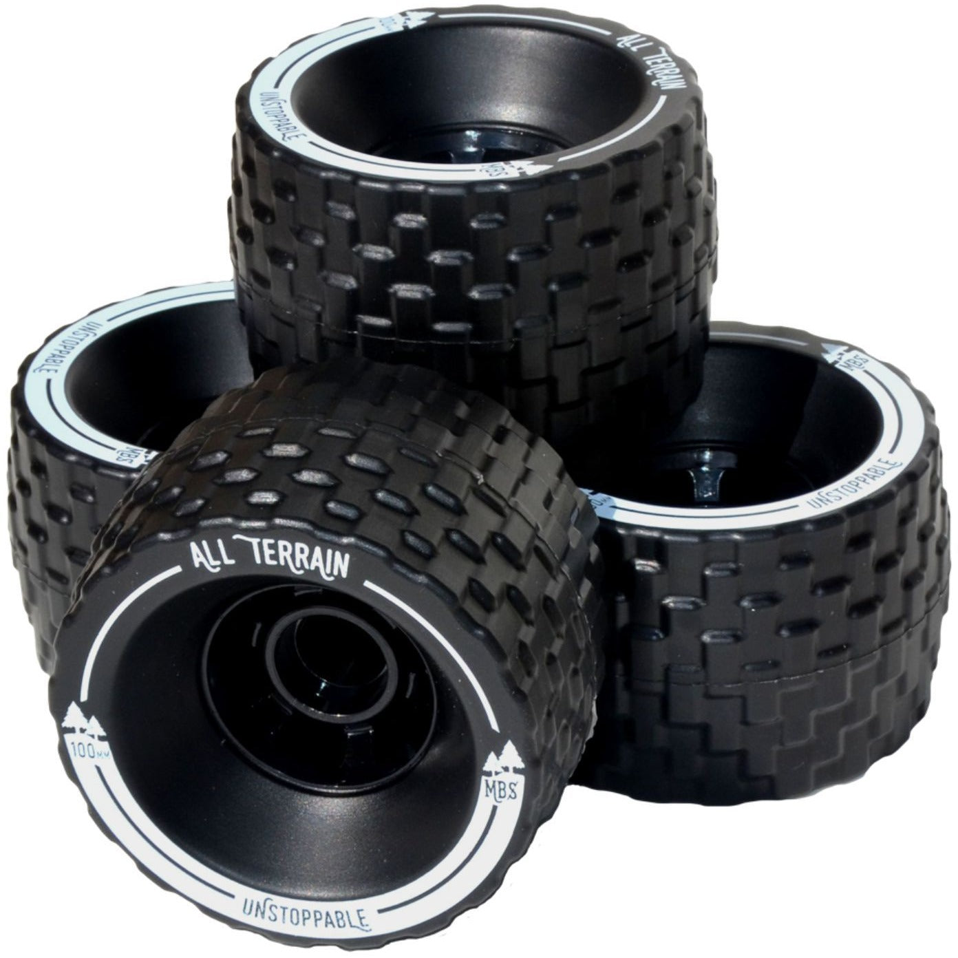 Atom Electric B10x And Mbs Boards All Terrain Wheels
