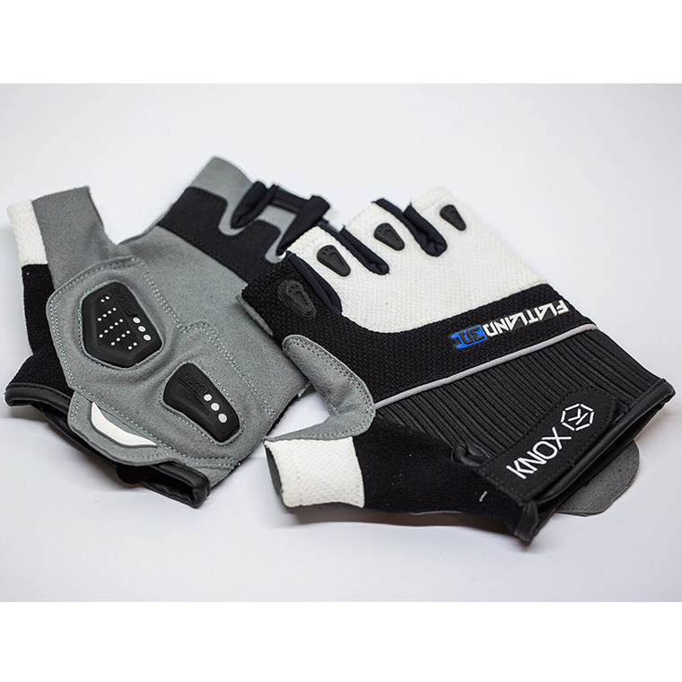 Flatland3D Knox eSkate Protective Gear Skateboarding Gloves - Half Finger - Perfect Remote Grip - Patented Wrist Protection - Designed for Maximum Comfort - ElectricSkateHQ