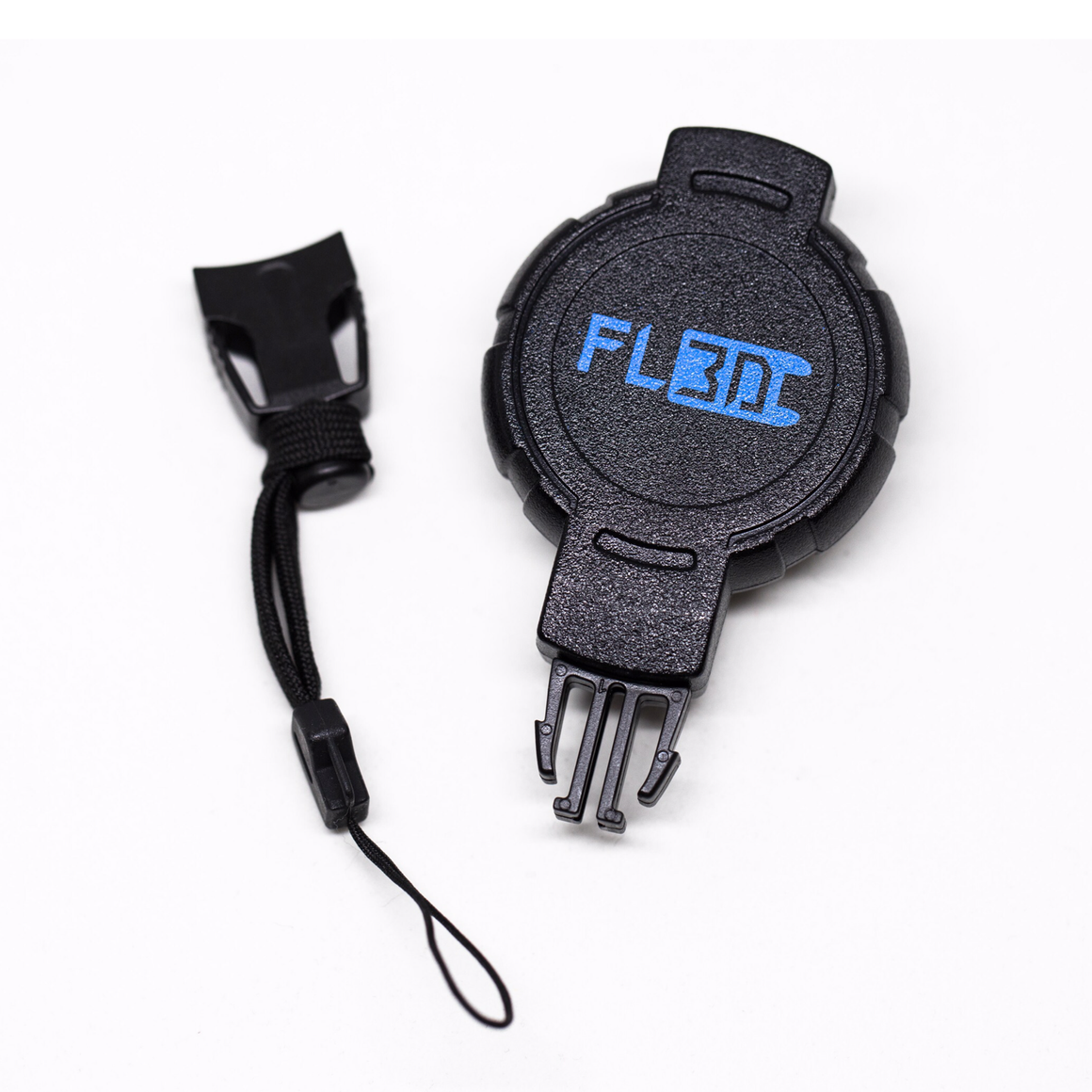 Flatland3D Retractable Electric Skateboard Remote Control Belt Clip Tether and Swappable Click In Lanyard - ElectricSkateHQ