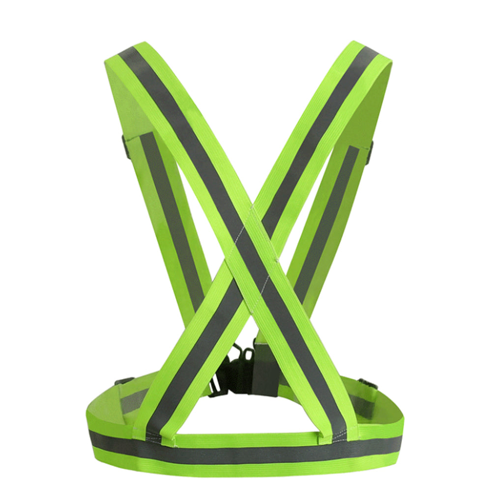 Reflective Safety Vest - Adjustable to Fit Men, Women and Teens - Highly Visible Security Jacket with Reflective Strips - Day and Night Protection - ElectricSkateHQ