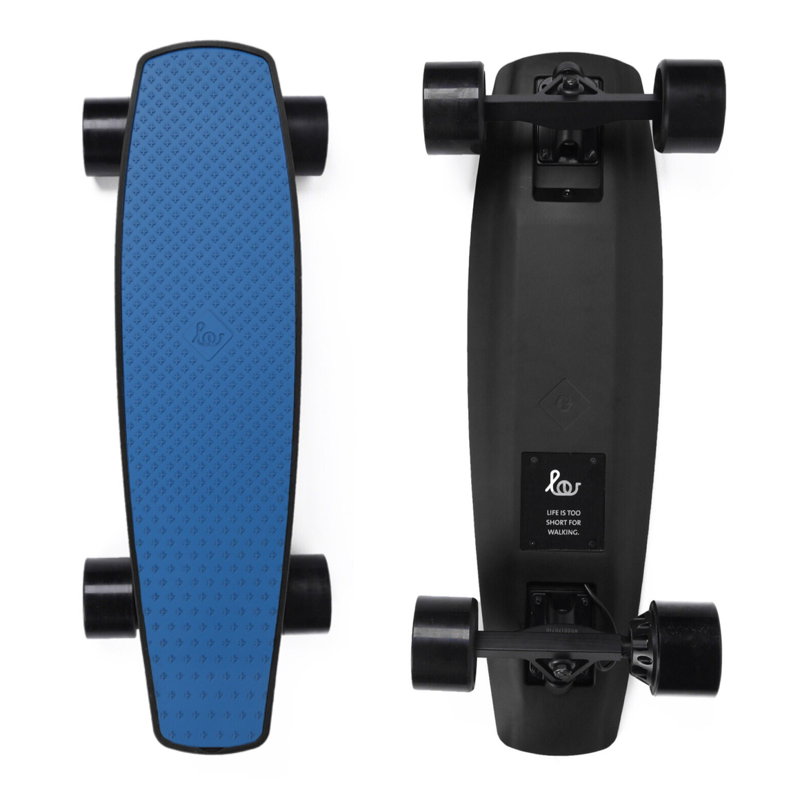 "SoFlow LOU Board 1.0 Electric Skateboard - 1500W Single Hub Motor - 17 MPH 8 Mile Range - 25"" Deck - 79Wh Rechargeable Lithium-ion Battery - Bluetooth Wireless Remote Control - ElectricSkateHQ"