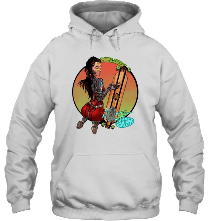 Team Melody Unisex Hoodie Mens Womens Skater Apparel - ElectricSkateHQ