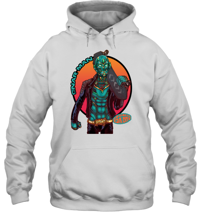 Team Gnar Man Unisex Hoodie Mens Womens Skater Apparel - ElectricSkateHQ