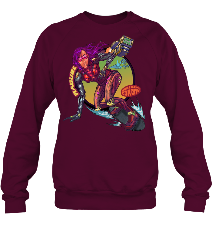 Team Raquel Unisex Sweatshirt Mens Womens Skater Apparel - ElectricSkateHQ