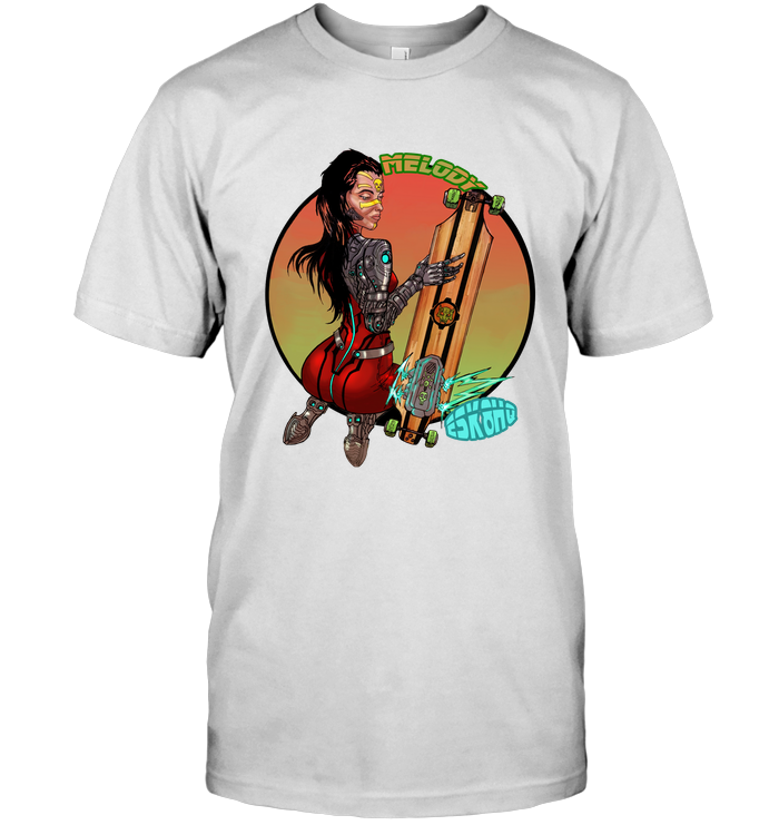 Team Melody Unisex T-Shirt Mens Womens Skater Apparel - ElectricSkateHQ