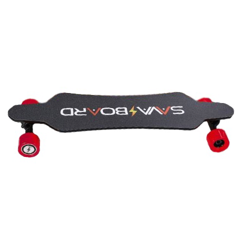 "SAVA Board i5C Carbon Fiber Electric Skateboard - 1400W Dual Hub Motor - 20 MPH 12 Mile Range - 37.8"" Deck - 158Wh Rechargeable Samsung Lithium-ion Battery - Wireless Remote Control - ElectricSkateHQ"