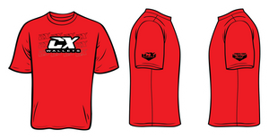 CX Wallets Red Shirt
