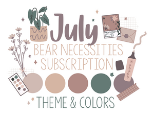 Bear Necessities Monthly Kit