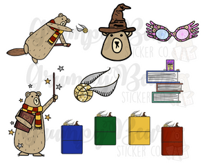 DIGITAL ITEM-Beary Potter set
