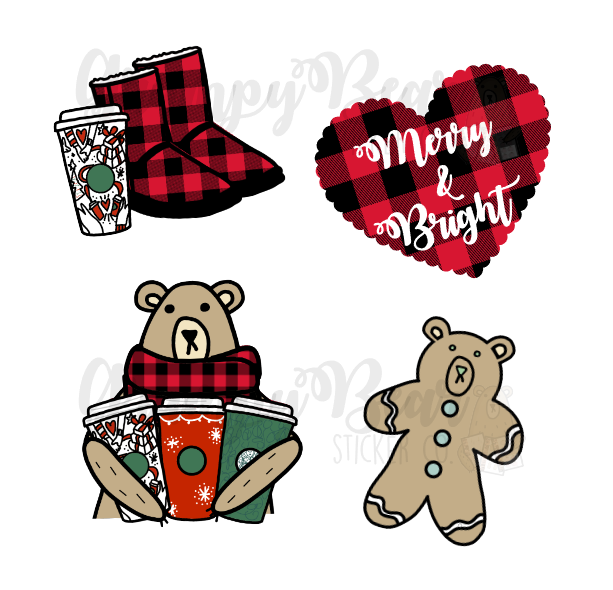 DIGITAL ITEM-Christmas set