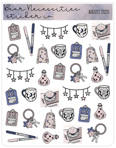 Bear Necessities- August 2020 Deco Sheet