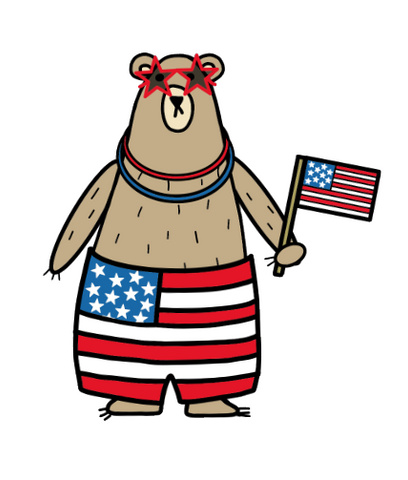 Freebie download-Grumpy loves America