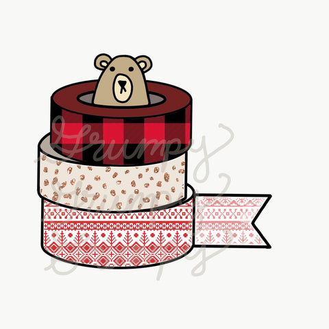 Digital download-Grumpy holiday washi