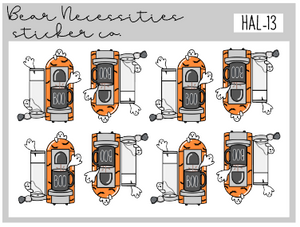 HAL 13-Ghostie Coffee Mini Sheet