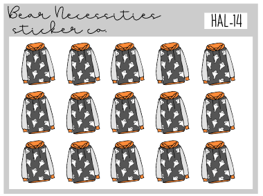 HAL 14-Ghostie Hoodie Mini Sheet