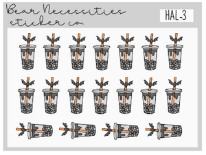 HAL 3-Boo Boba Mini Sheet