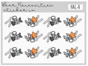HAL 4-Spooky Keys Mini Sheet