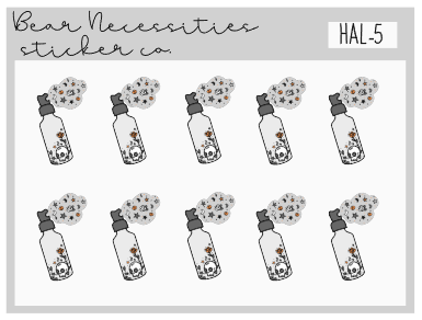 HAL 5-Witch Spray Mini Sheet