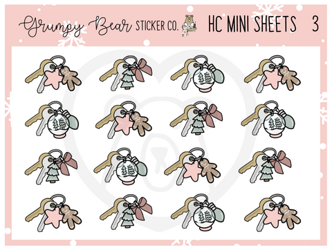 HC-3-Holiday Cheer Collection Mini Sheet