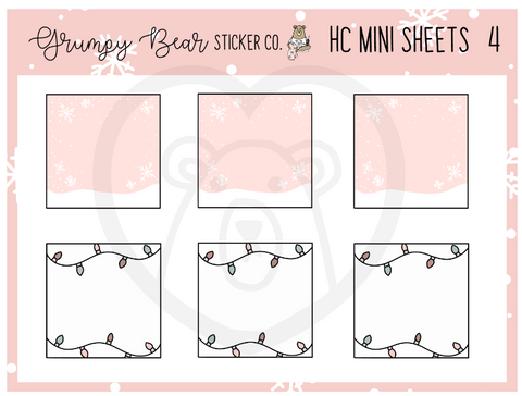 HC-4-Holiday Cheer Collection Mini Sheet