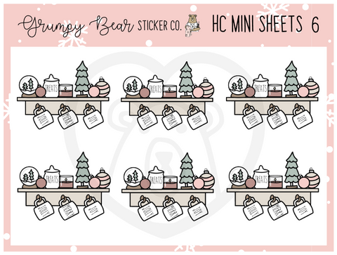 HC-6-Holiday Cheer Collection Mini Sheet