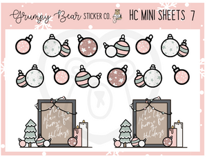 HC-7-Holiday Cheer Collection Mini Sheet