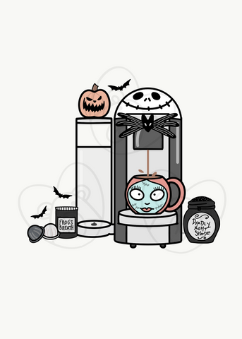 Digital Download-Nightmare Coffee Maker