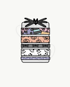 Digital Download-Nightmare Washi Card