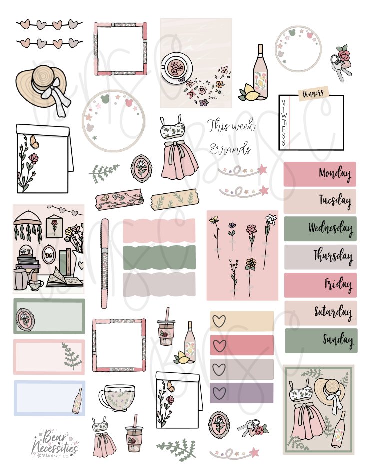 June 2020 Digital Journaling Kit