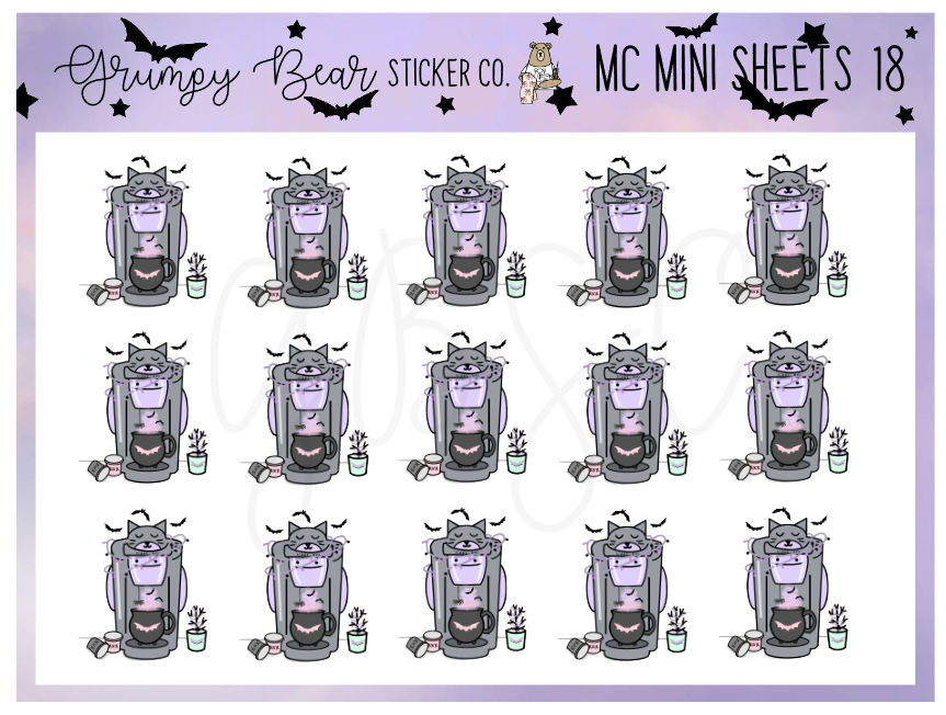 MC-18-Moon Child Collection Mini Sheet
