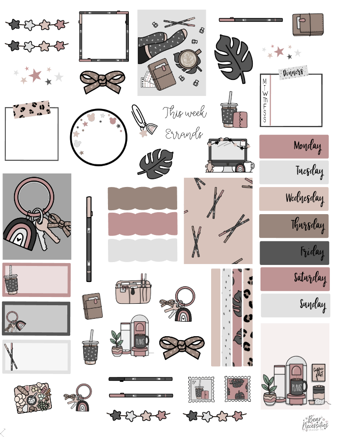 October 2020 Digital Journaling Kit