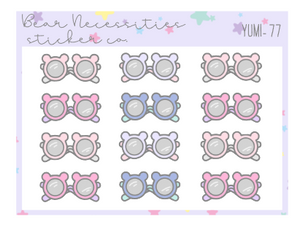 Yumi Collection 77-Bear Glasses