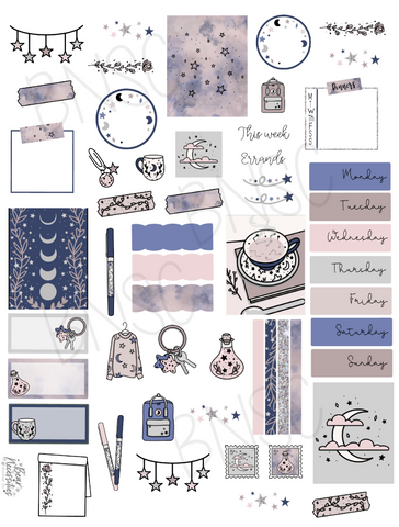 August 2020 Digital Journaling Kit