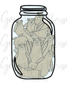 Digital Download-Grumpy in a jar