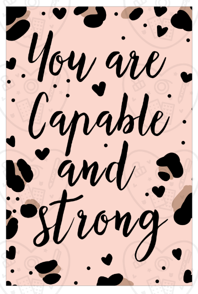 Digital Download-Capable & Strong Art Print