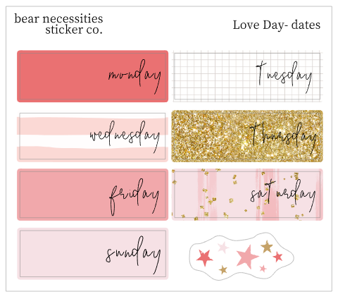 BNSC- Journaling- Date Covers