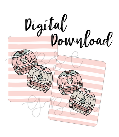 Digital Download-Holiday Cheer Micro Notes Covers
