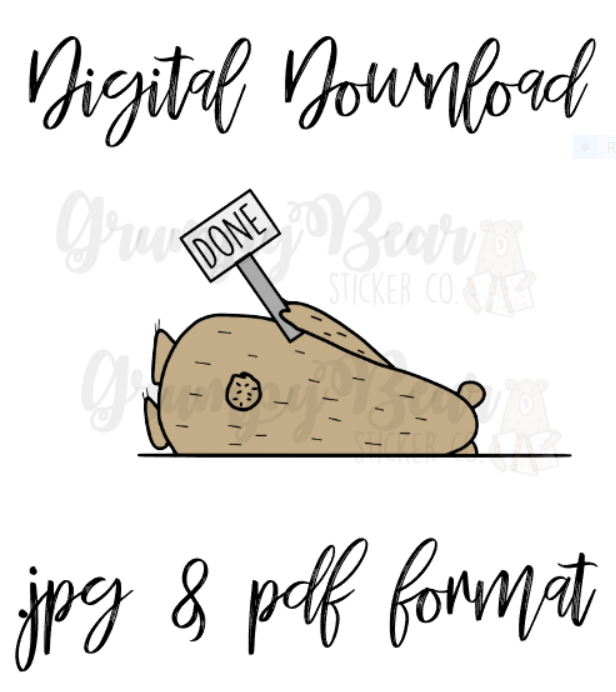Digital Download-Grumpy Is Done