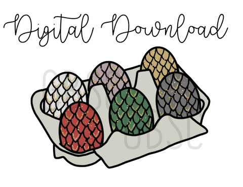 Digital Download-Dragon Eggs