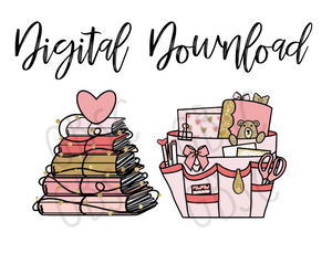 Digital Download-Valentines set