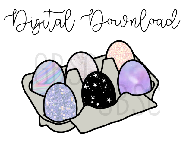 Digital Download-Galaxy Eggs