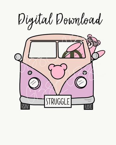 Digital Download-Struggle Bus