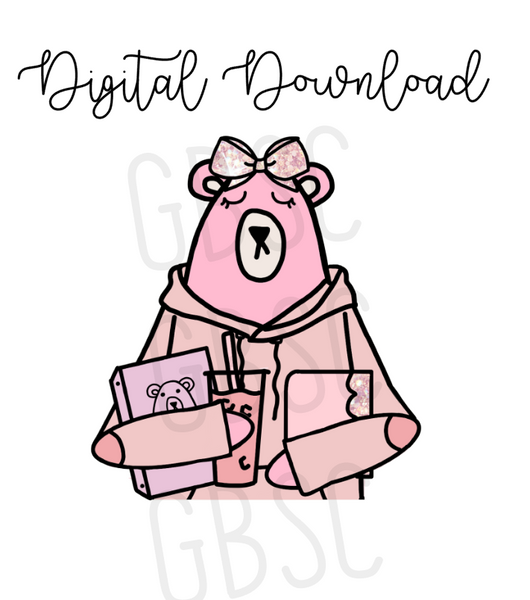 Digital Download-Jez Loves Pink