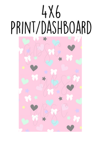 Digital Download-Kawaii Cute 4x6 print