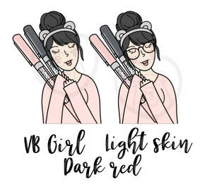 Digital Download-VB Pen Girl-LIGHT SKIN TONE