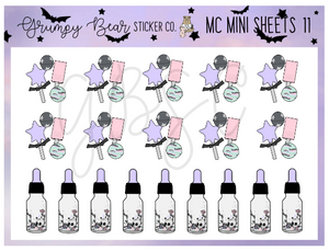 MC-11-Moon Child Collection Mini Sheet