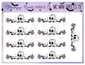 MC-13-Moon Child Collection Mini Sheet